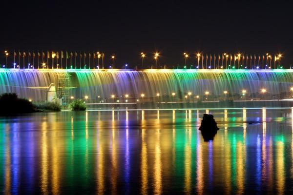 آبشار اهواز (رنگین کمان کارون)